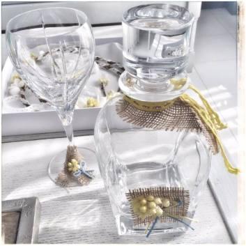 Μπουκάλι - Ποτήρι Γάμου